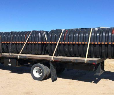 2 1530 gallon Infiltrator Tanks