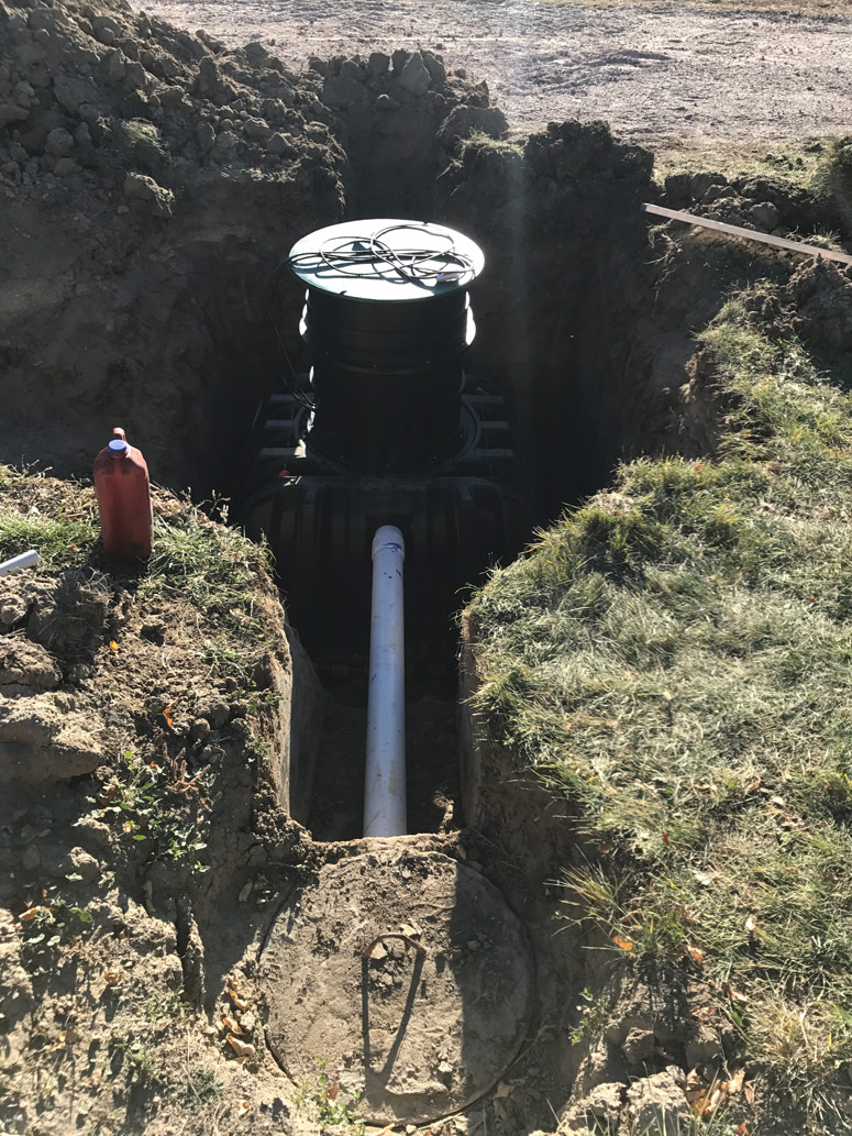 Calhan CO septic installation